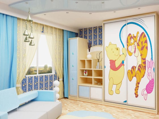 Шкаф для детской