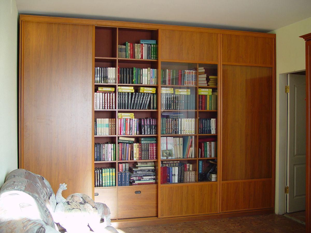 Шкаф купе книжный