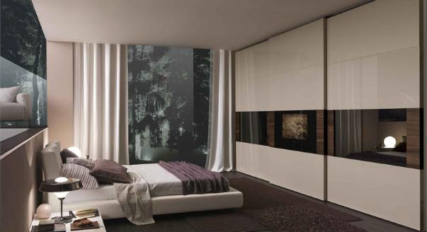 Платяные шкафы для спальной комнаты