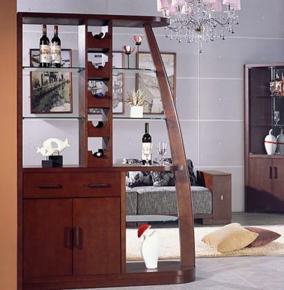 Стеллаж-бар зонирующий комнату