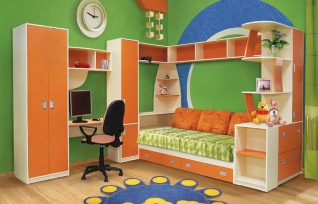 Стенка-кровать в детскую