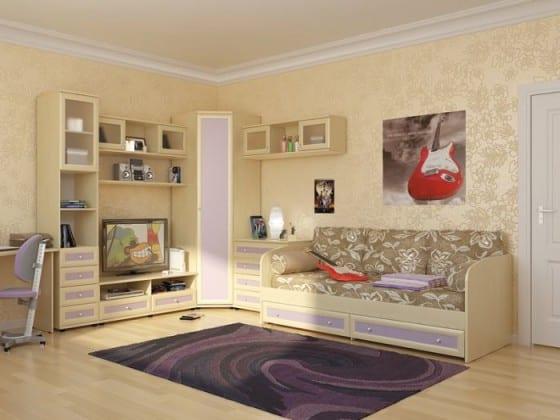 Детские стенки с диваном