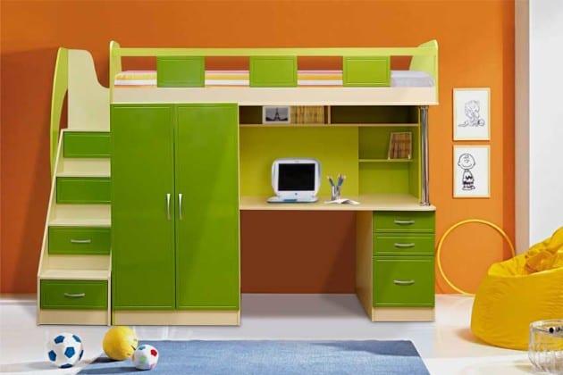 Детские стенки-кровати