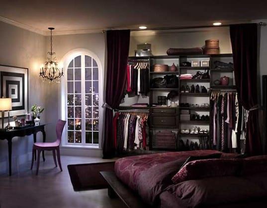 Спальные комнаты с гардеробной