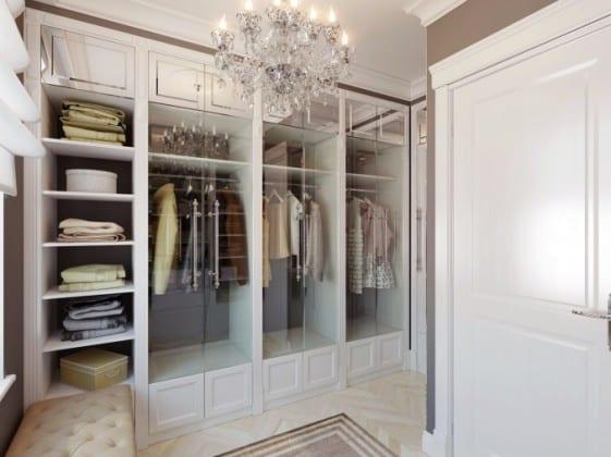Шкаф-гардеробная в спальню