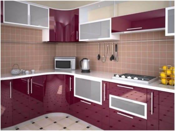 Навесные шкафы в кухню недорогие