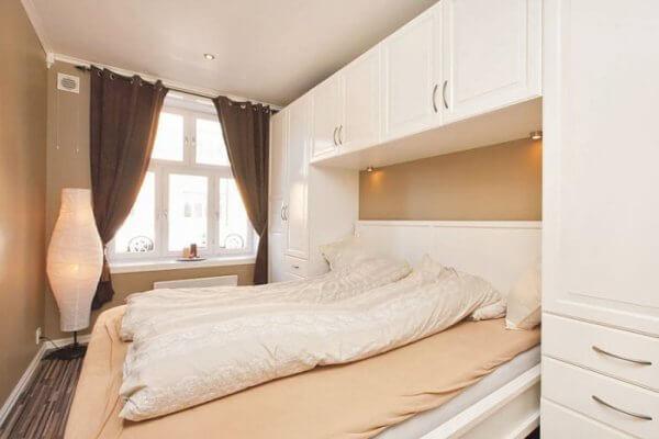 Подвесные шкафы для спальни