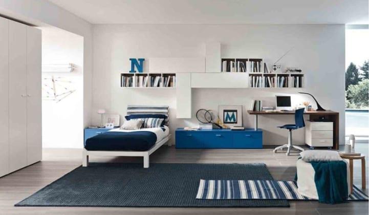Навесные шкафы для спальни