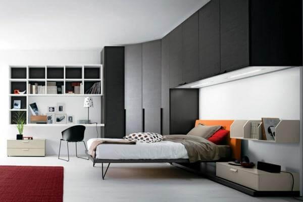 Шкафы настенные для спальни