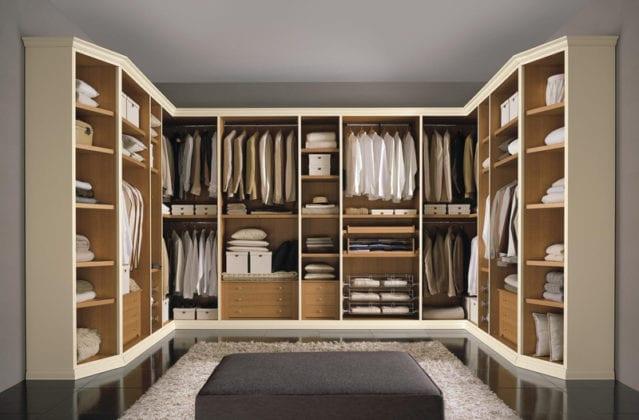 Итальянские гардеробные комнаты Fratelli Cenedese