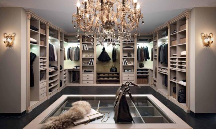 Идеи гардеробной комнаты