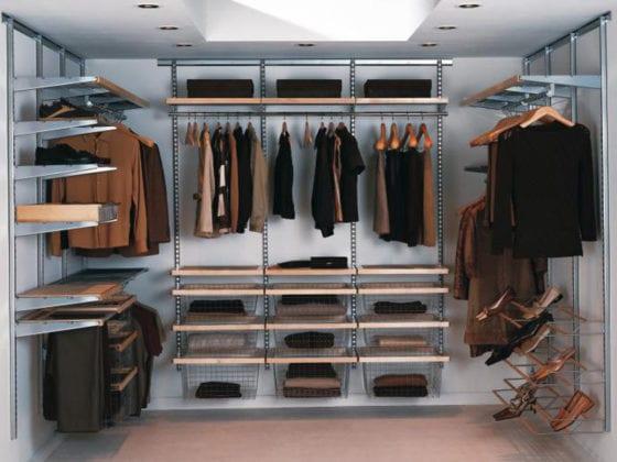 Наполнения для гардеробных комнат