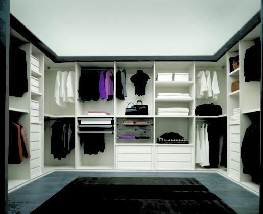 Эргономика гардеробной комнаты. Fratelli Cenedese