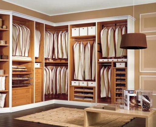Интерьер гардеробной комнаты Fratelli Cenedese