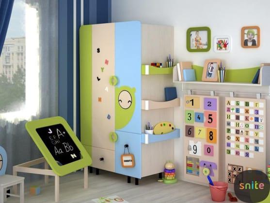 Шкаф в детскую комнату для мальчика