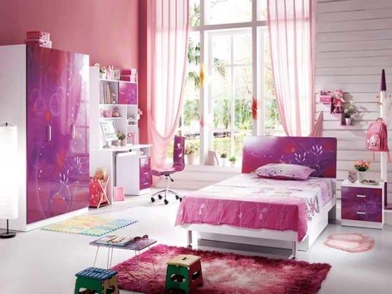 Шкафы в детскую комнату для девочек