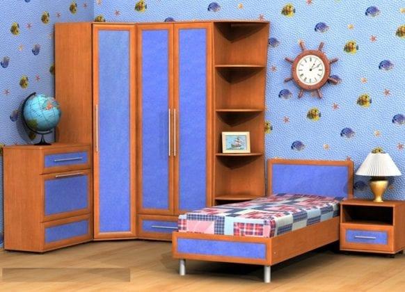 Детские шкафы угловые