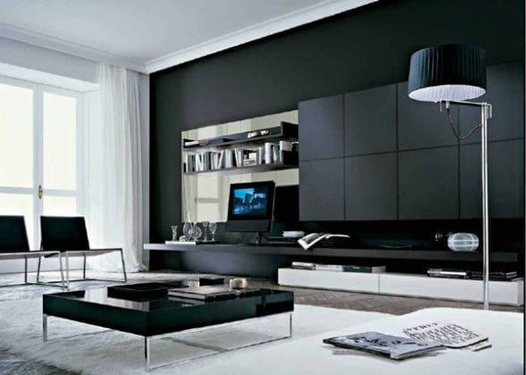 Мебель. Стеллажи для гостиной