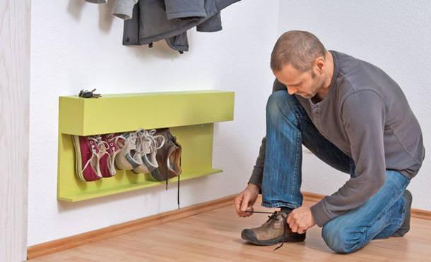 Обувница подвесная