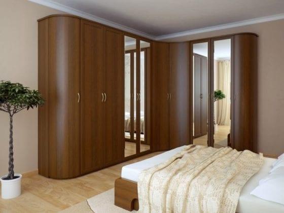 Угловые шкафы в спальню