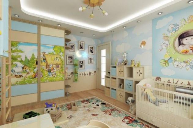Угловые шкафы для детской