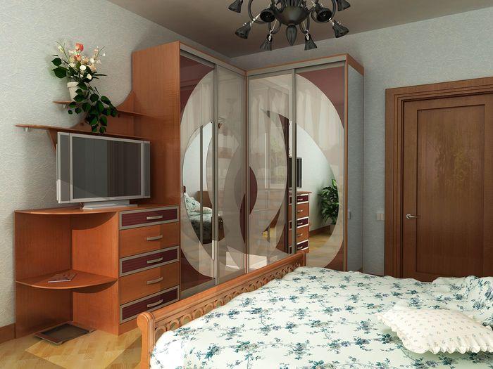 Угловые спальни