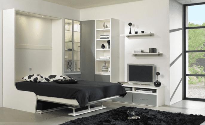 Кровати встроенные в шкаф