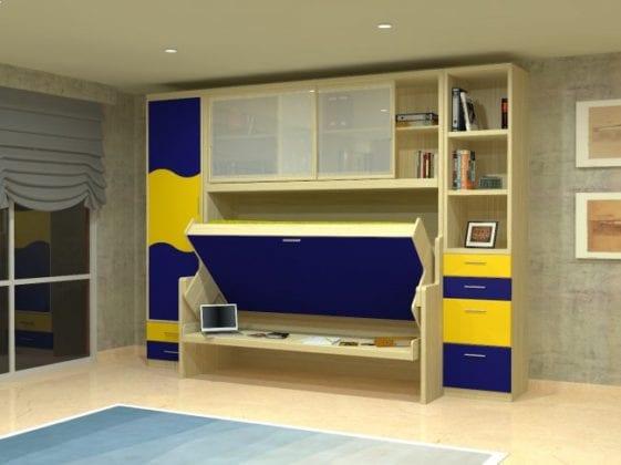 Детская кровать-шкаф трансформер