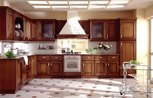 Шкаф для кухни напольный