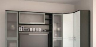 Стенка для гостиной с угловым шкафом