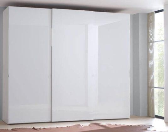 Шкафы белые глянцевые