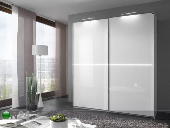 Белый глянец шкаф-купе