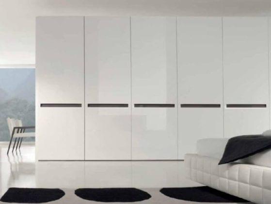 Белый глянец шкаф
