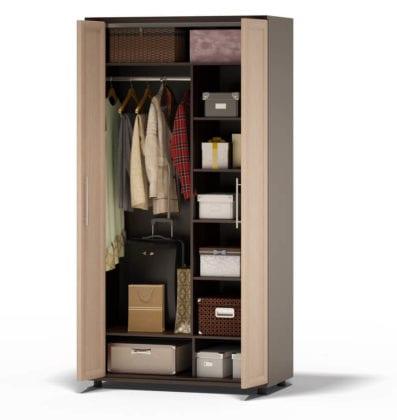 Шкаф двухстворчатый для одежды