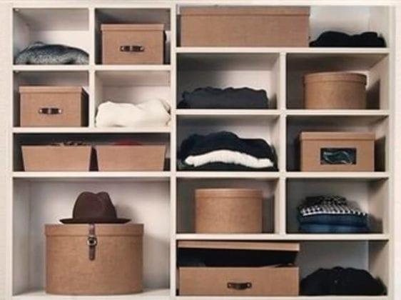 Ящики для хранения вещей в шкафу