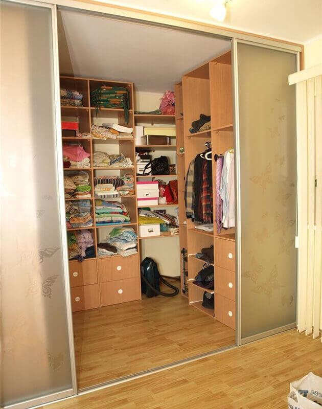 Гардеробные шкафы своими руками фото 157