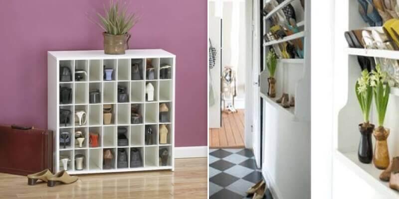Стеллажи для обуви в прихожую