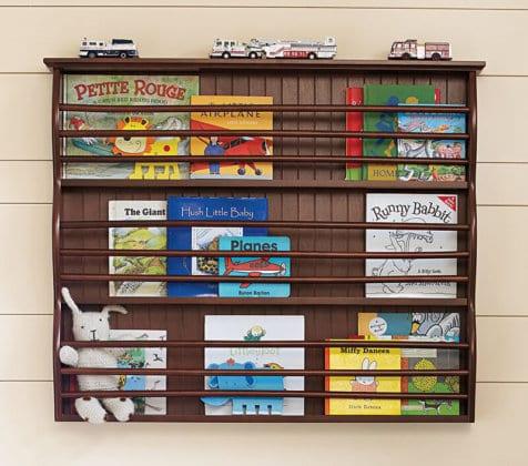 Стеллаж для книг в детскую