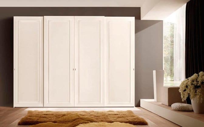 Шкафы 4-х дверные распашные
